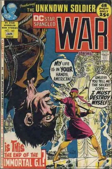 Star Spangled War Stories (1952) 160-A by DC