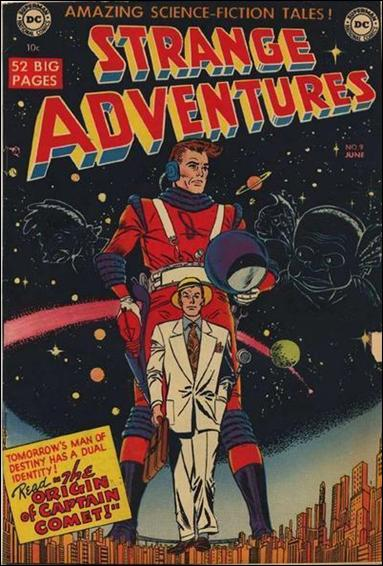 Strange Adventures (1950) 9-A by DC