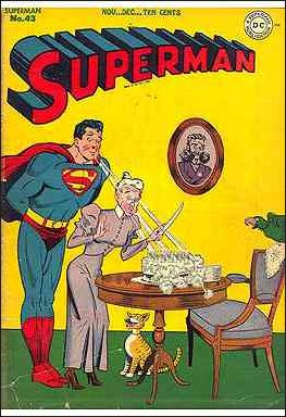 Superman (1939) 43-A by DC