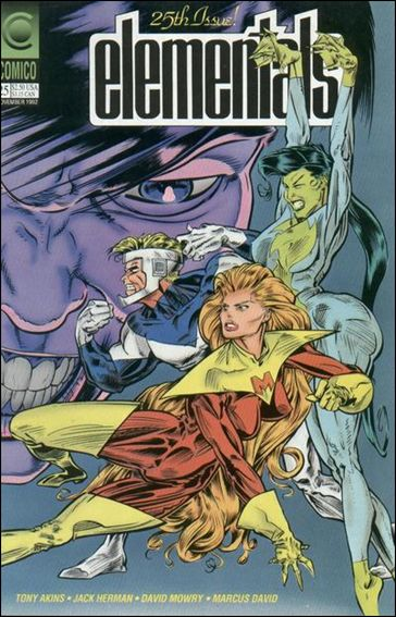 Elementals (1989) 25-A by Comico