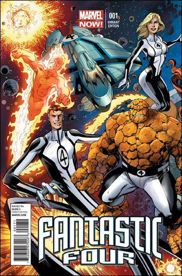 Fantastic Four (2013) 1-E by Marvel