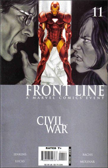 Civil War: Front Line 11-A by Marvel