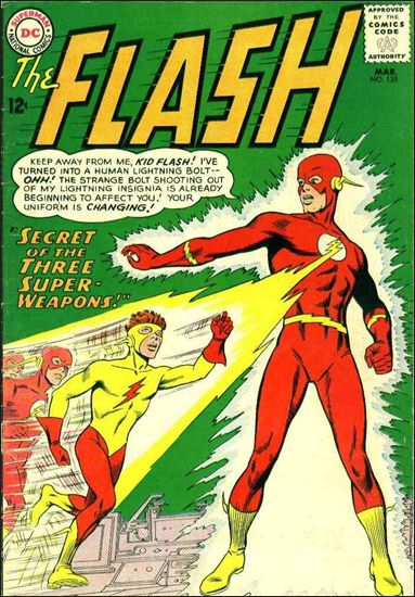 Flash (1959) 135-A by DC