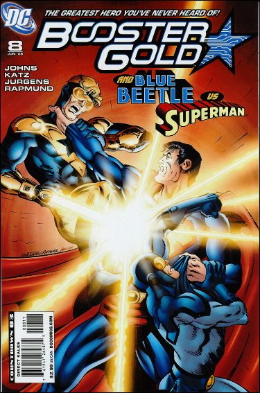 Booster Gold (2007) 8-A by DC