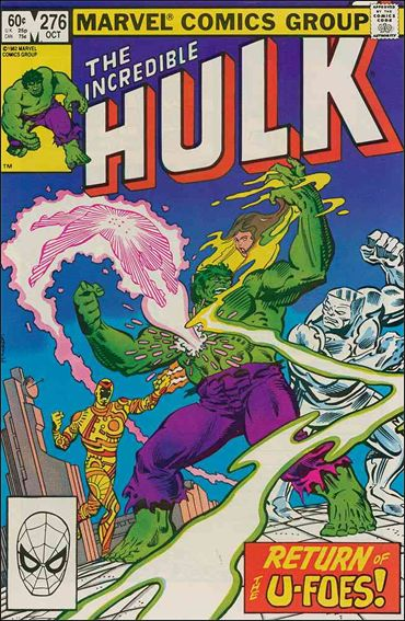 Incredible Hulk (1968) 276-A by Marvel