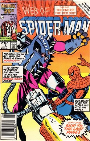 Web of Spider-Man (1985) 17-A
