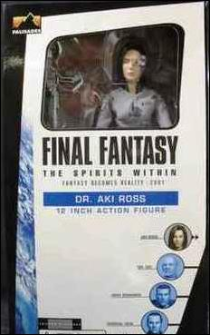 Final Fantasy: The Spirits Within (12&quot; Figures) Dr. Aki Ross by Palisades Toys