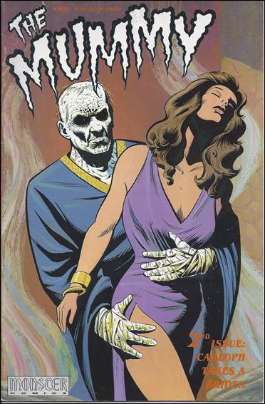 Mummy (1991) 2-A by Monster Comics