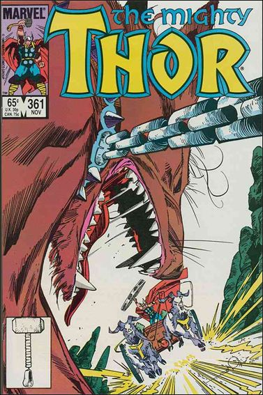 Thor (1966) 361-A by Marvel