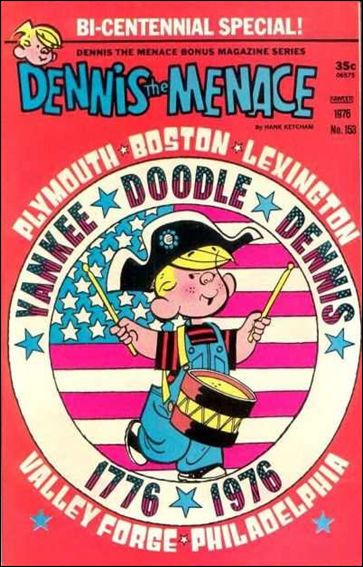 Dennis the Menace Bonus Magazine Series 153-A by Fawcett