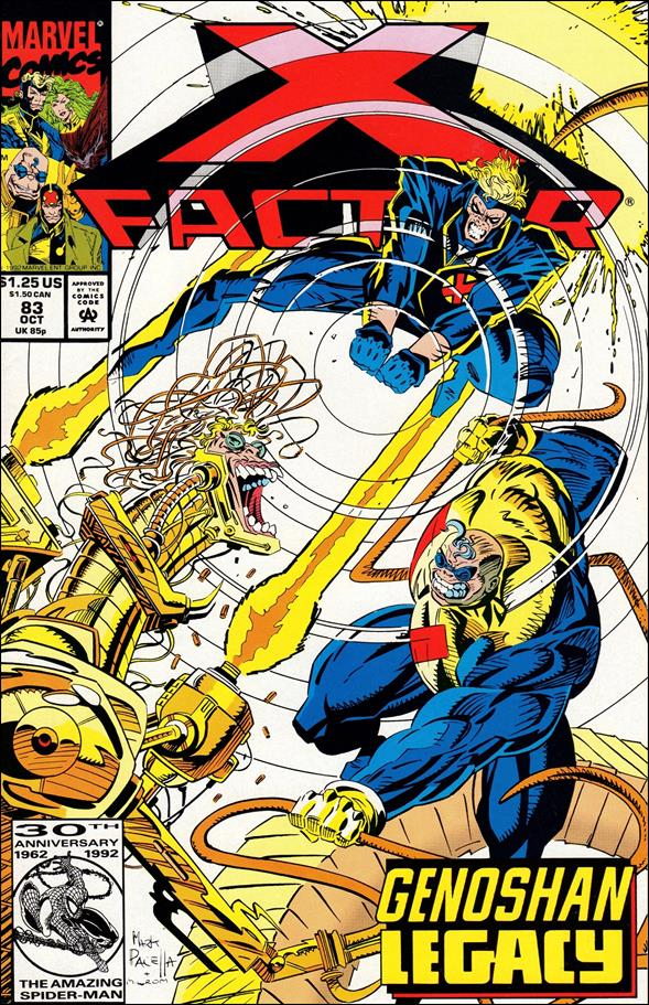 X-Factor (1986) 83-A by Marvel