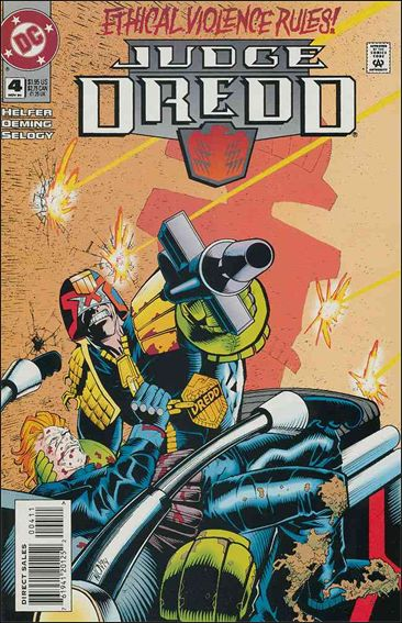 Judge Dredd (1994) 4-A by DC