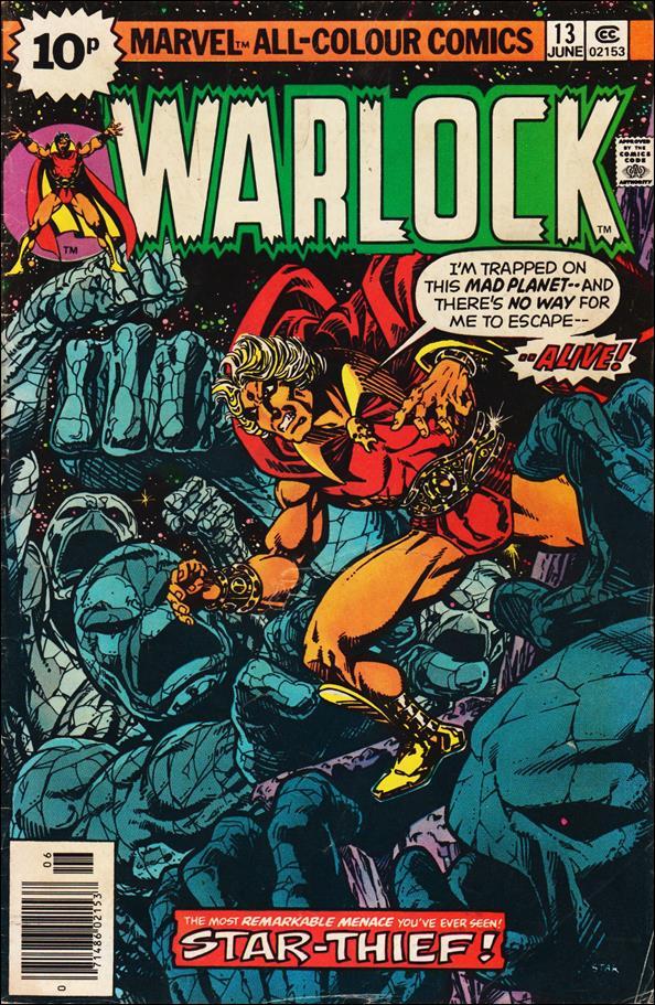 Warlock (1972) 13-C by Marvel