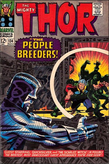 Thor (1966) 134-A by Marvel