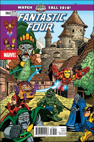 Fantastic Four (1961) 583-B by Marvel