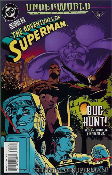 Adventures of Superman (1987) 530-A by DC