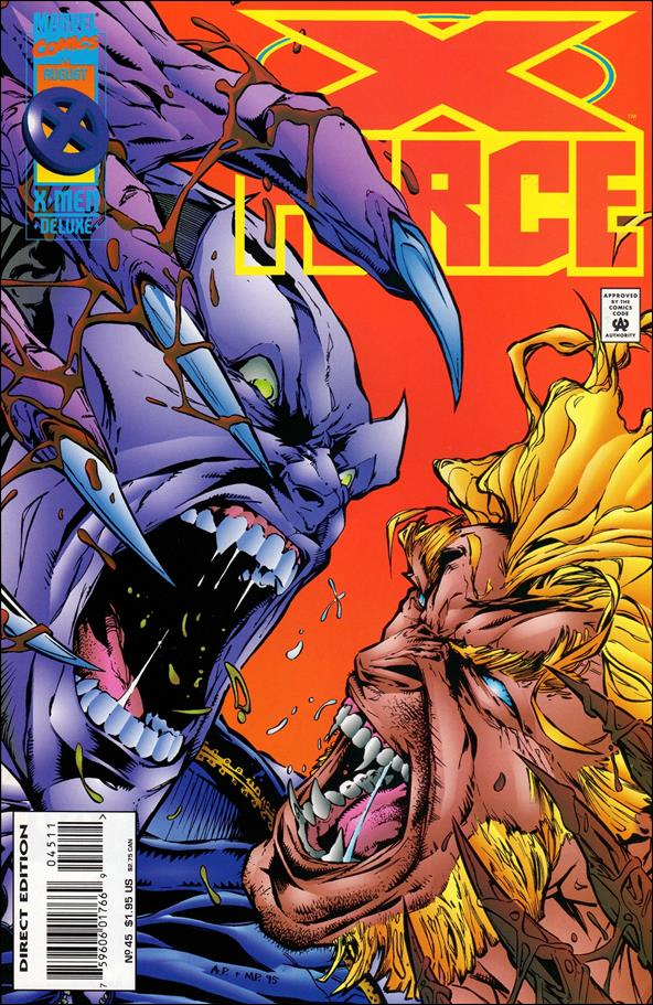 X-Force (1991) 45-A by Marvel