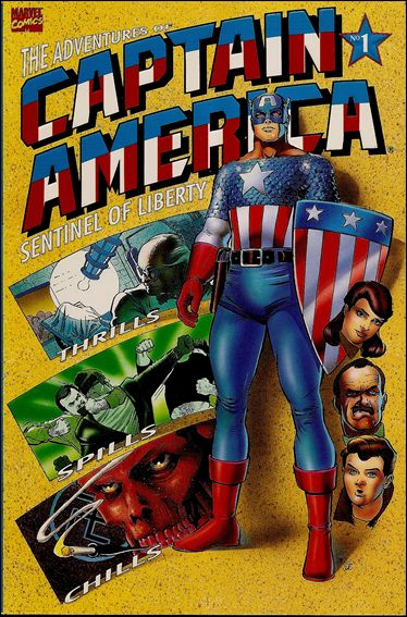 Adventures of Captain America - Sentinel of Liberty 1-A by Marvel
