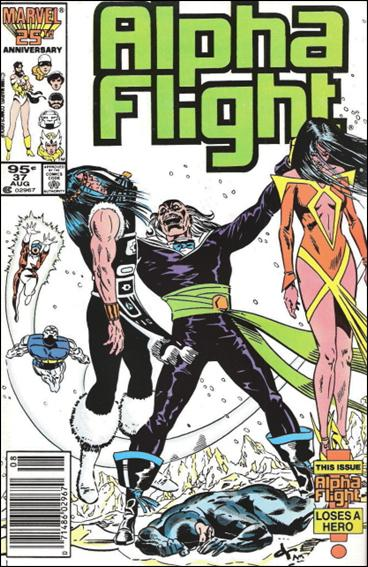 Alpha Flight (1983) 37-B by Marvel