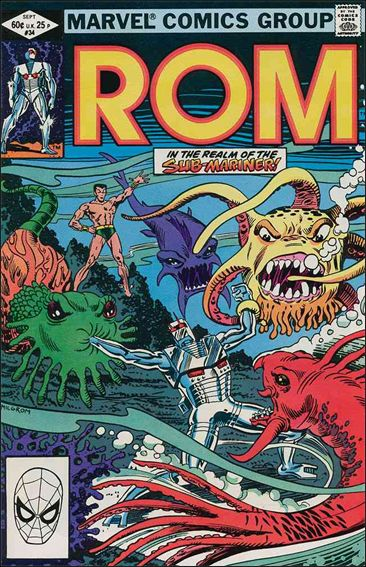 ROM (1979) 34-A by Marvel