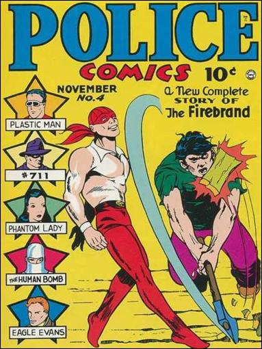 Police Comics 4-A by Comic Magazines