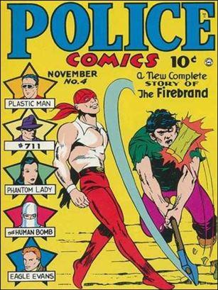 Police Comics 4-A
