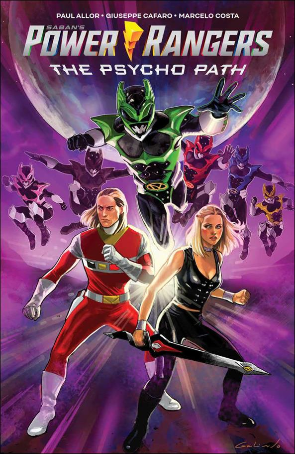 Saban's Power Rangers: The Psycho Path nn-A by Boom! Studios