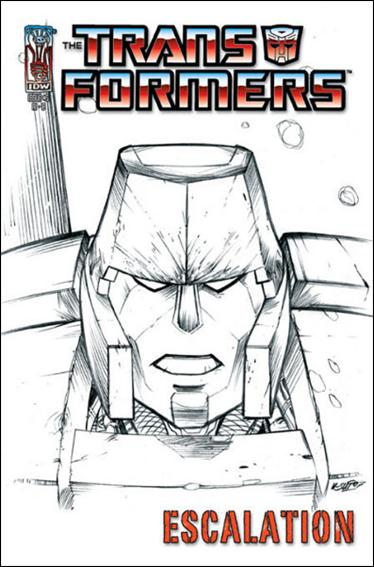 Transformers: Escalation 5-D by IDW