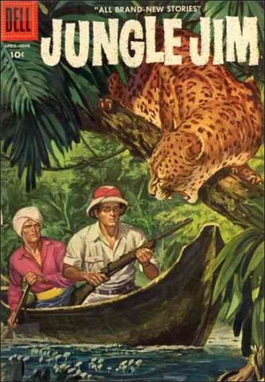 Jungle Jim (1954) 8-A by Dell
