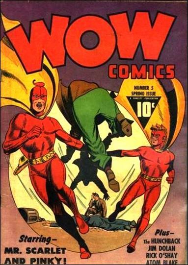 Wow Comics (1940) 5-A by Fawcett
