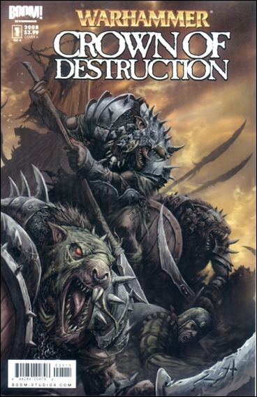 Warhammer: Crown of Destruction 1-A by Boom! Studios