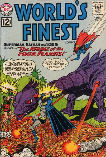 World's Finest Comics 130-A by DC