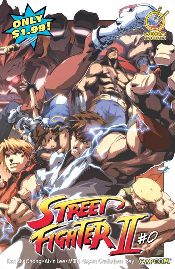 Street Fighter II (2005) 0-A by Udon