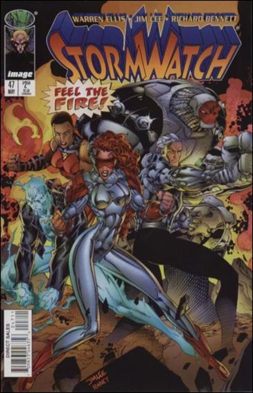 StormWatch (1993) 47-A by Image
