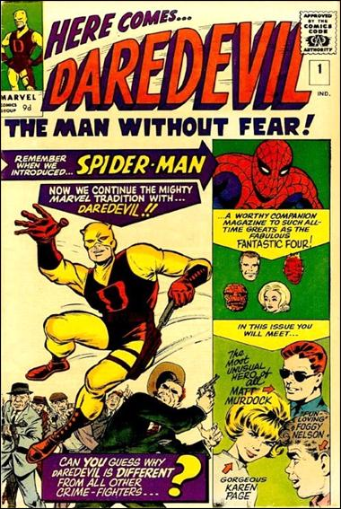 Daredevil (1964) 1-B by Marvel