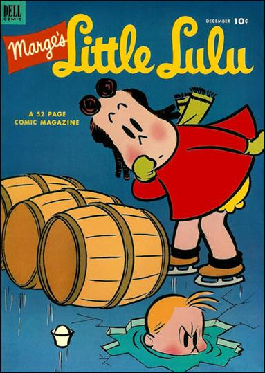 Marge's Little Lulu 54-A by Dell