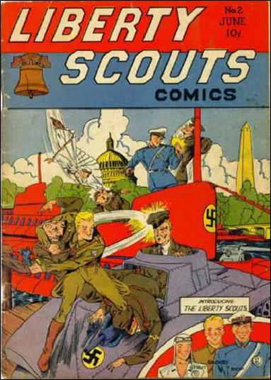Liberty Scouts 2-A by Centaur Publications Inc.