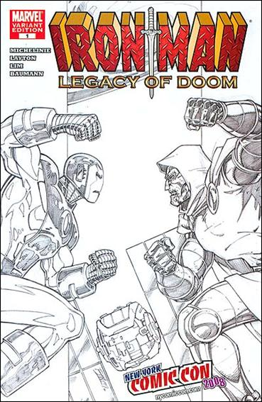 Iron Man: Legacy of Doom 1-B by Marvel
