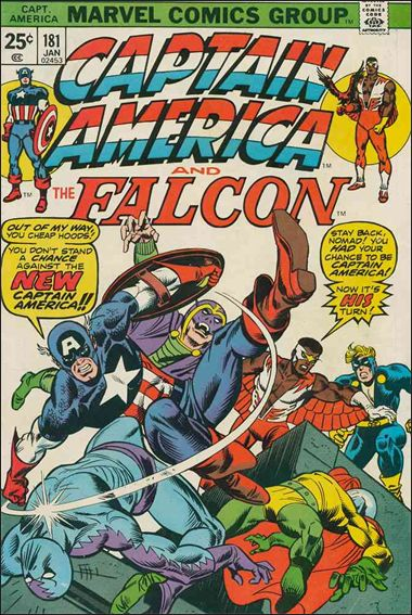 Captain America (1968) 181-A by Marvel