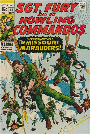 Sgt. Fury and His Howling Commandos 70-A by Marvel