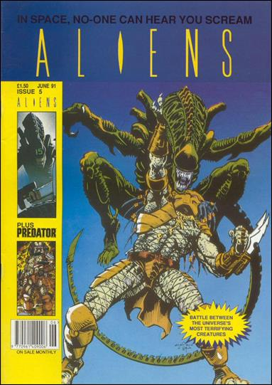 Aliens (UK) (1991) 5-A by Trident Comics