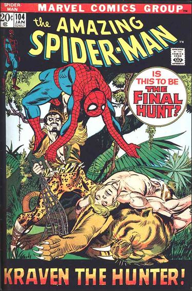 Amazing Spider-Man (1963) 104-A by Marvel