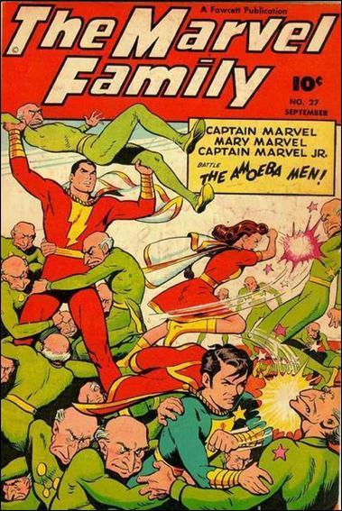 Marvel Family 27-A by Fawcett