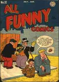 All Funny Comics 12-A by DC