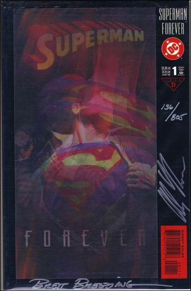 Superman Forever 1-D by DC