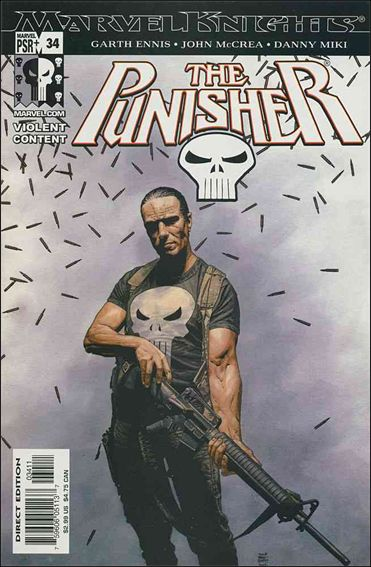 Punisher (2001) 34-A by Marvel