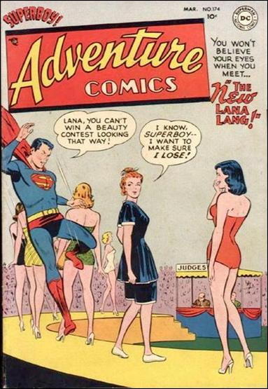 Adventure Comics (1938) 174-A by DC