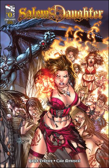 Salem's Daughter 0-A by Zenescope Entertainment