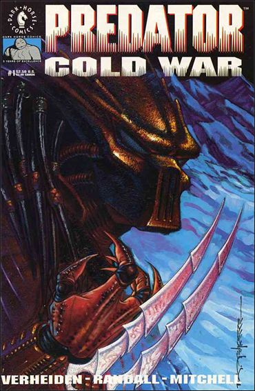 Predator: Cold War 1-A by Dark Horse