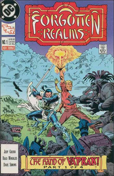 Forgotten Realms 1-A by DC